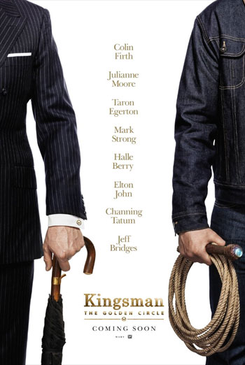 Kingsman- The Golden Circle IMAX Trailer movie poster