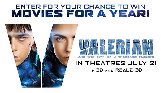 Valerian And The City Of A Thousand Planets Contest