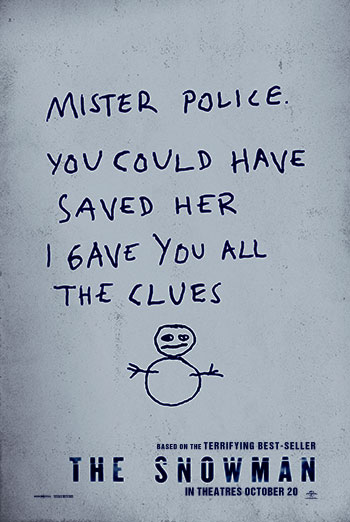 The Snowman - Trailer movie poster