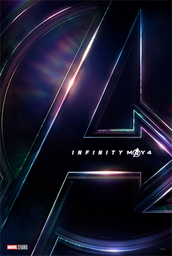 Avengers: Infinity War Big Game Spot movie poster