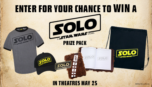 Solo: A Star Wars Story  Prize Packs
