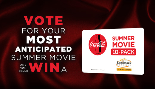 Vote for a Chance to WIN a Summer Movie 10-Pack