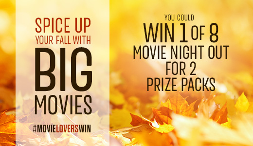 Spice Up Your Fall With Big Movies