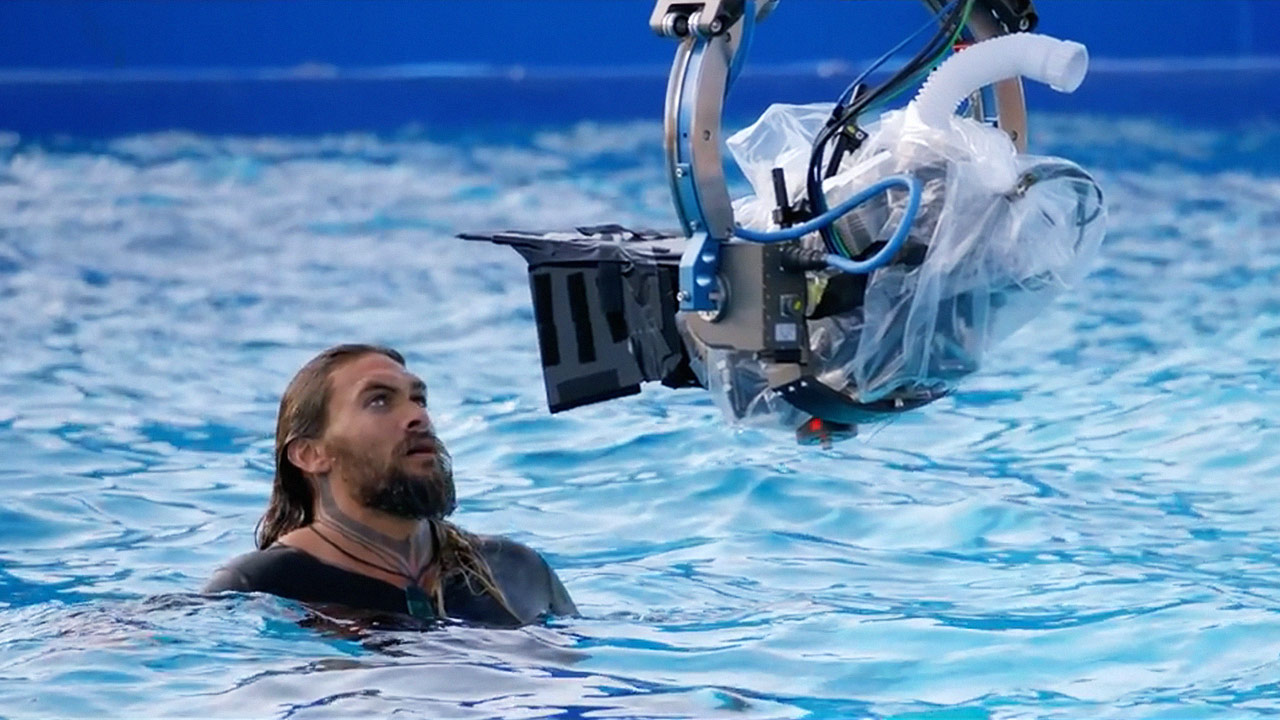 watch Aquaman Behind-the-Scenes Featurette