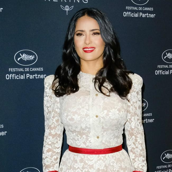 Salma Hayek found it difficult to keep The Eternals role secret