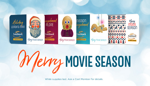 Merry Movie Season, Movie Lover!