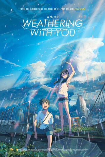 Weathering With You (Japanese W/E.S.T.) poster