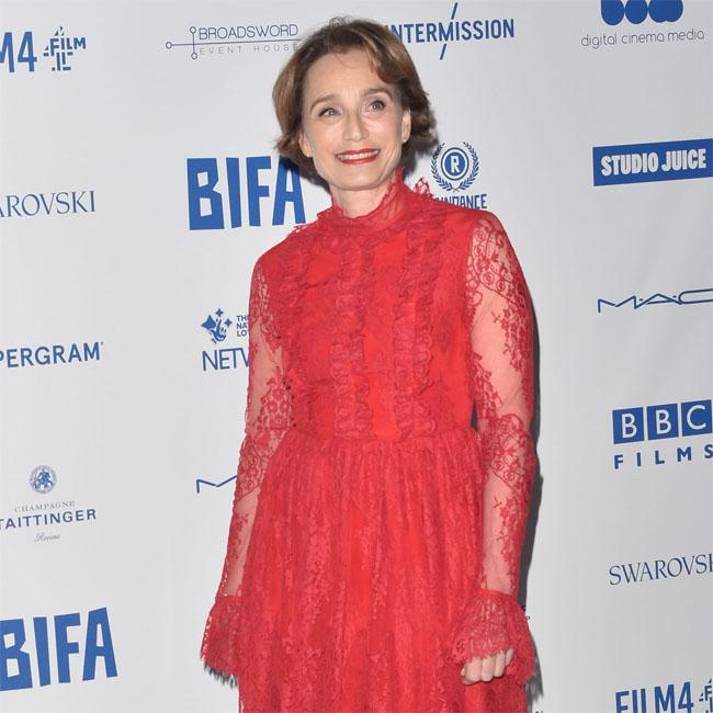 Kristin Scott Thomas used her family to prepare for Military Wives role