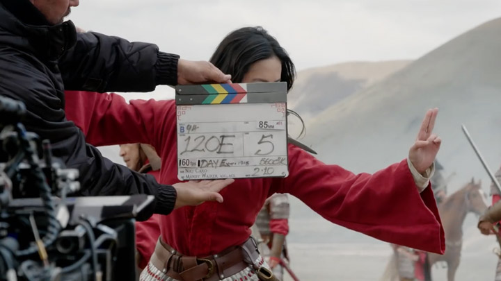 watch Disney's Mulan Stunt Featurette