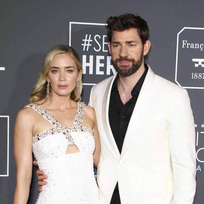 John Krasinski hails Emily Blunt as 'most tremendous actress of our time'