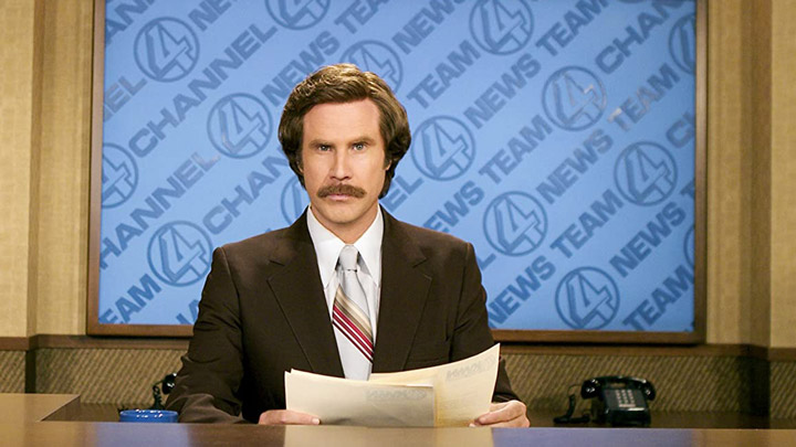 teaser image - Anchorman: The Legend of Ron Burgundy Trailer