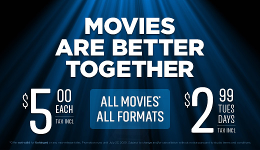 Movies Are Better Together $5 Offer