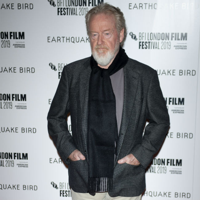 Sir Ridley Scott directing Joaquin Phoenix in Kitbag