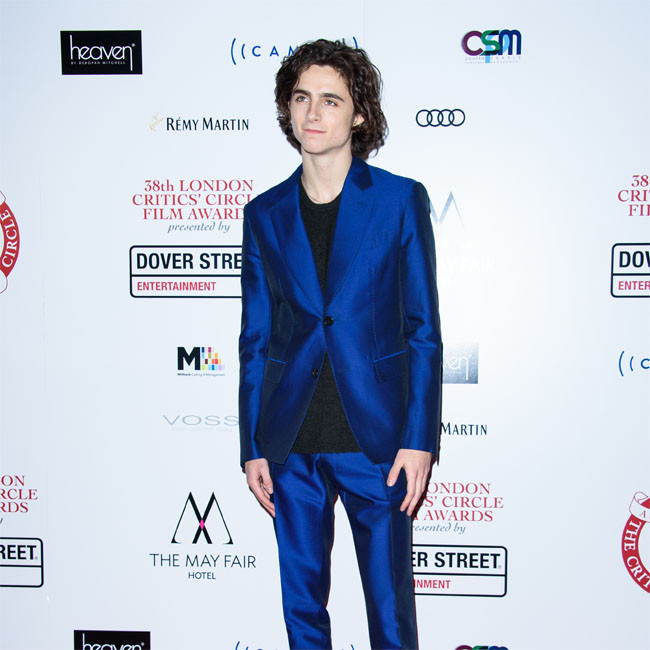 Timothee Chalamet's Bob Dylan biopic put on hold