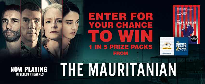 The Mauritanian Prize Pack Contest image