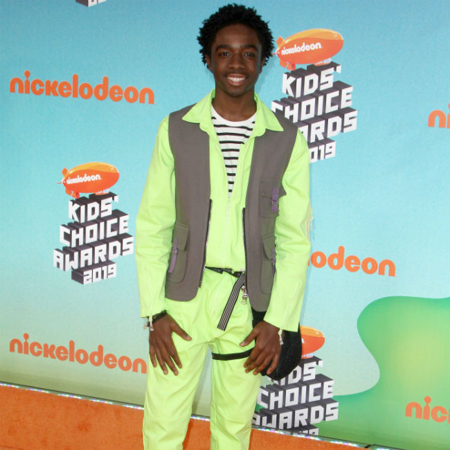 Caleb McLaughlin spent hours talking to Idris Elba to prepare for Concrete Cowboy